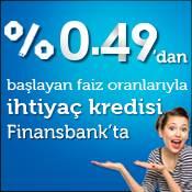 0,49% Faizli Bayram Kredisi Finansbank'ta