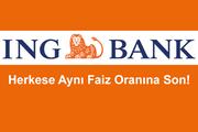 ING'den günde 20 TL'ye 20.000 TL kredi