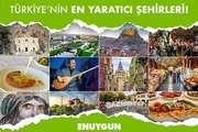 Türkiye'nin en yaratıcı şehirleri!