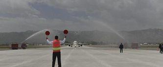 Hakkari-Yüksekova Selahaddin Eyyubi Havalimanı açıldı