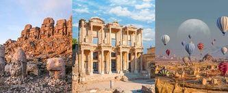 Türkiye'den UNESCO Dünya Mirası Listesi'ne giren yerler