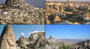 Nevşehir'de gezilecek yerler