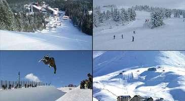 Türkiye'deki Popüler Kayak Merkezleri