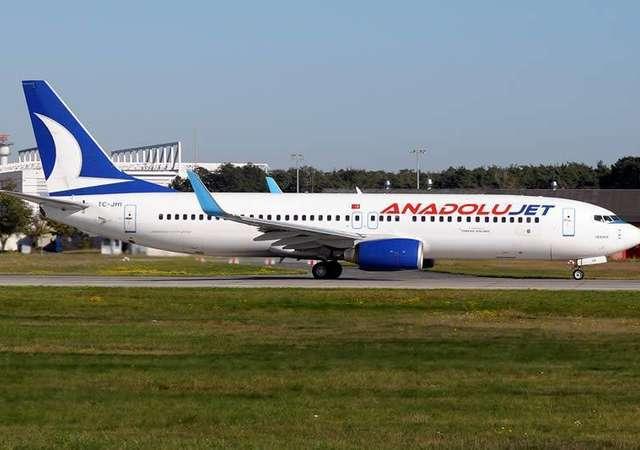 AnadoluJet'ten uçuş ve boarding süreleriyle ilgili  uyarı