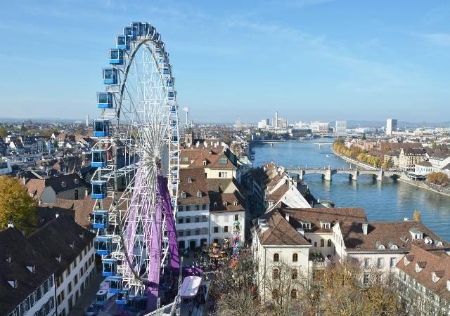 Üç ülkeye sınırı olan şehir Basel