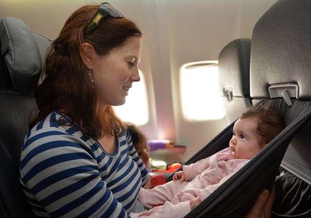Hamilelikte ve çocuklarla uçak yolculuğu