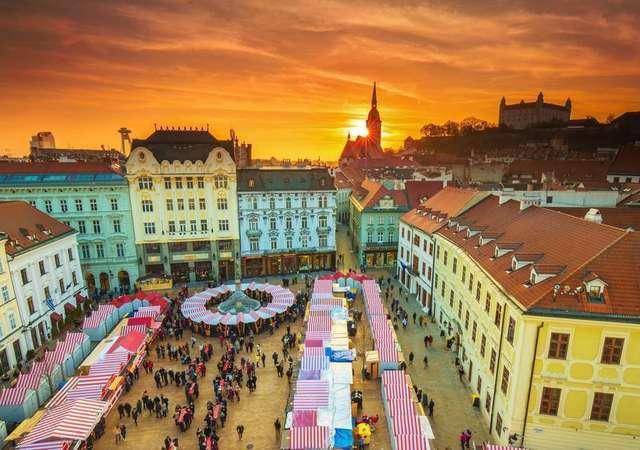 Orta Avrupa'nın eğlence şehri Bratislava