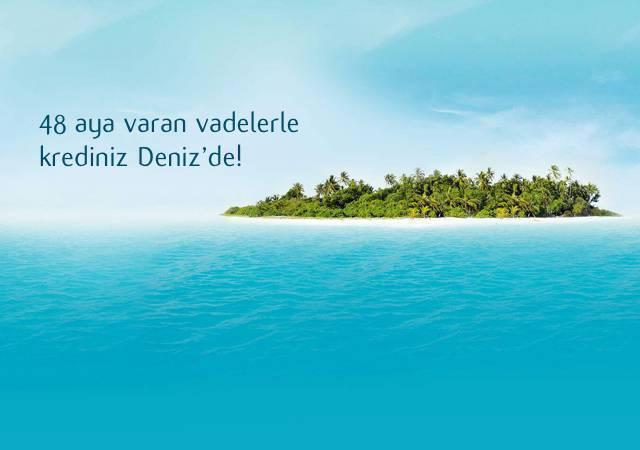 %1,49'dan başlayan Denizbank Enuygun'a Özel Web'de Kredi