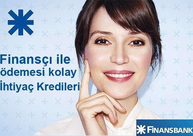 Finansbank'tan günde 20 TL'ye 17.500 TL kredi