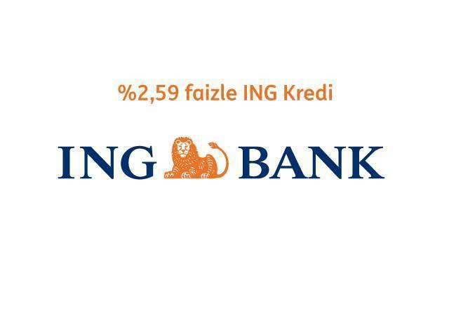 ING'den ayda 606 TL'ye 15.000 TL kredi