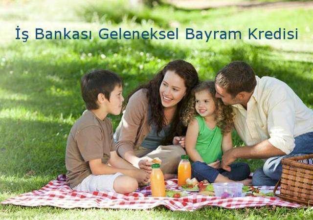 İş Bankası'ndan ayda 184 TL'ye 5.000 TL Bayram Kredisi