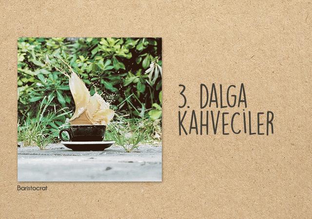 3 Büyük Şehrin 3. Dalga Kahvecileri