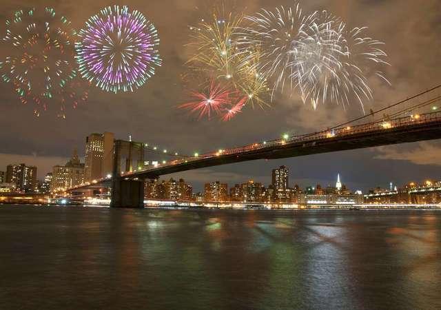 Yeni yılı kutlamak için alternatif 5 rota
