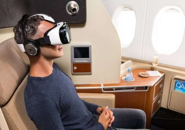 Qantas Airlines yolcularını sanal gerçekliğe uçuruyor