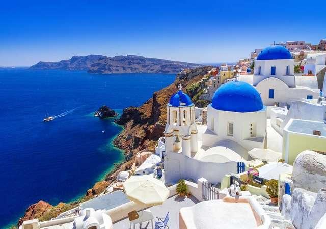 Tezatlar adası Santorini