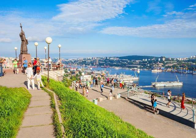 Rusya'nın Vladivostok şehrine vizesiz seyahat