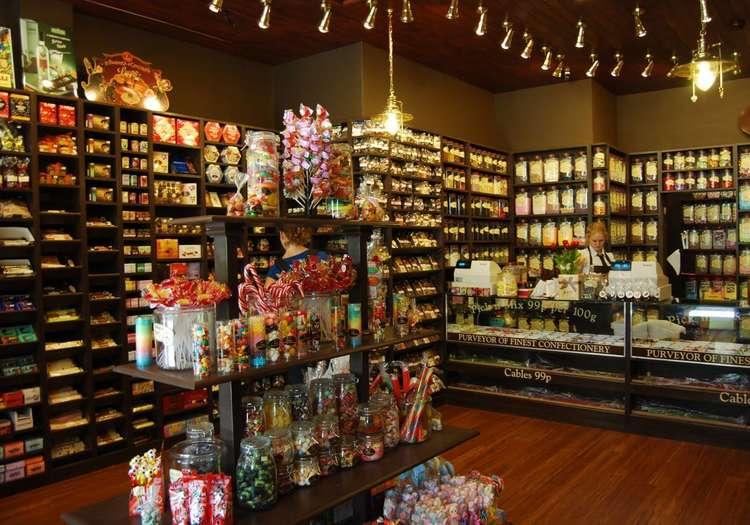 Şekerleme dükkânlarından alışveriş