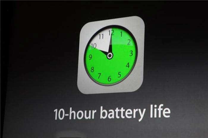 10 saat batarya ömrü