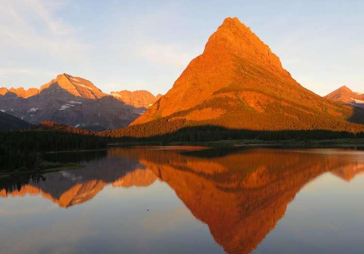 Grinell Dağı, Montana