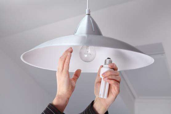 Floresan ve tasarruflu lambalar kullanın!