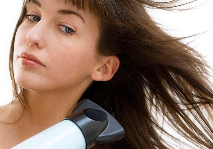 Saç kurutma makinenizi mümkün olduğunca az kullanın!
