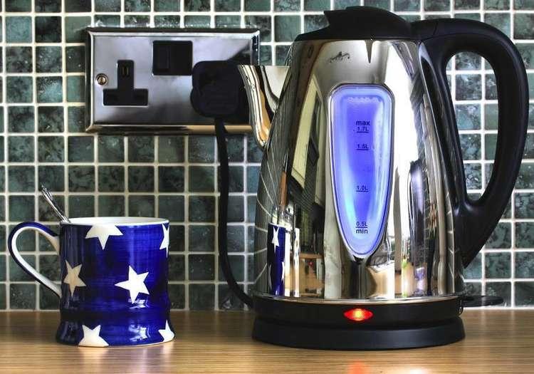 Az miktarda su ısıtmak için kettle kullanın!