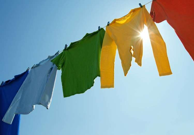 Çamaşırlarınızı asarak kurutun!