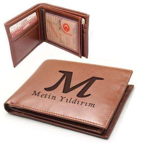 İsme özel cüzdan