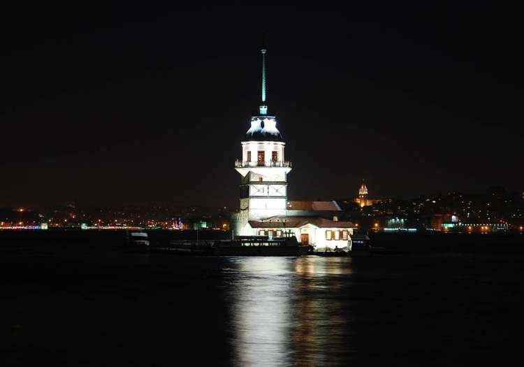 Kız Kulesi'nden 360 derece İstanbul'u izlemek