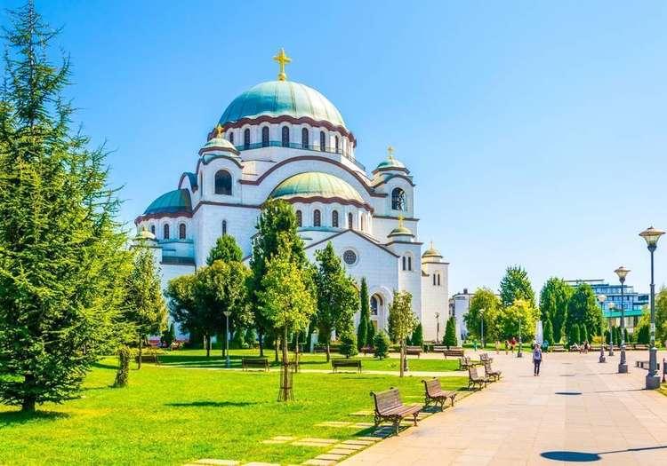 Aziz Sava Katedrali'nin ihtişamına kapılın