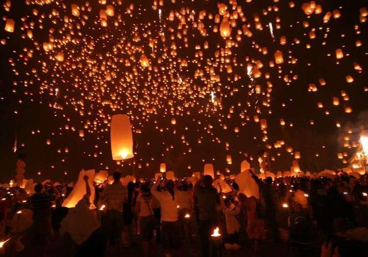 Yi Peng Fener Festivali – Tayland