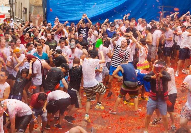 Domates Festivali - Bunol