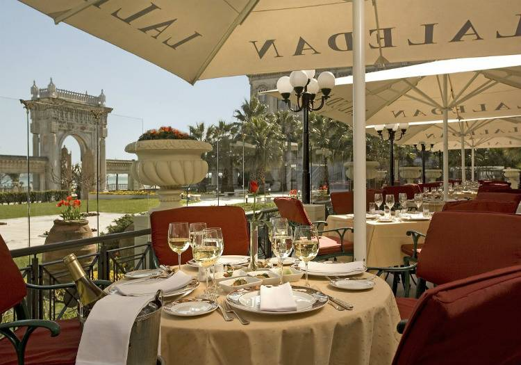 Laledan Restaurant Çırağan Palace Kempinski