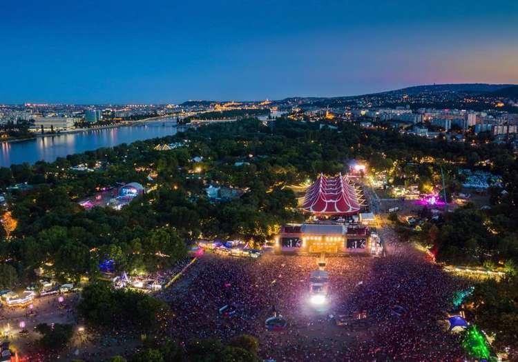 Sziget Festivali - Budapeşte