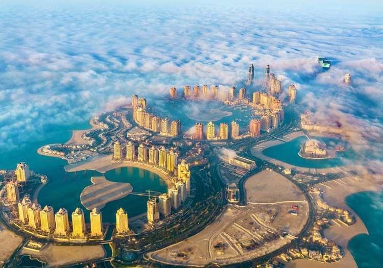 Doha'nın modern yüzü The Pearl Adası'nı dolaşın