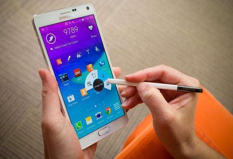 En fazla özellik Samsung Galaxy Note 4'de
