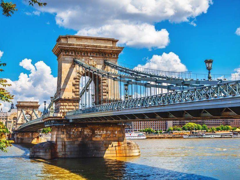 1- Chain Köprüsü – Budapeşte