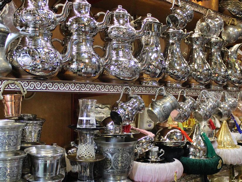 Gaziantep'in zaman tüneli: Bakırcılar Çarşısı