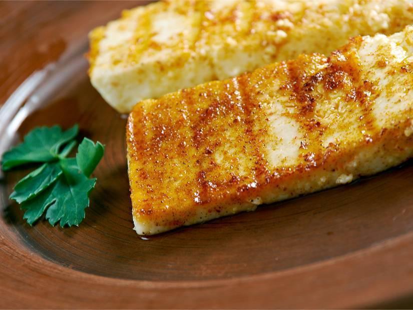 1- Hellim peynirli kahvaltıyla güne başla