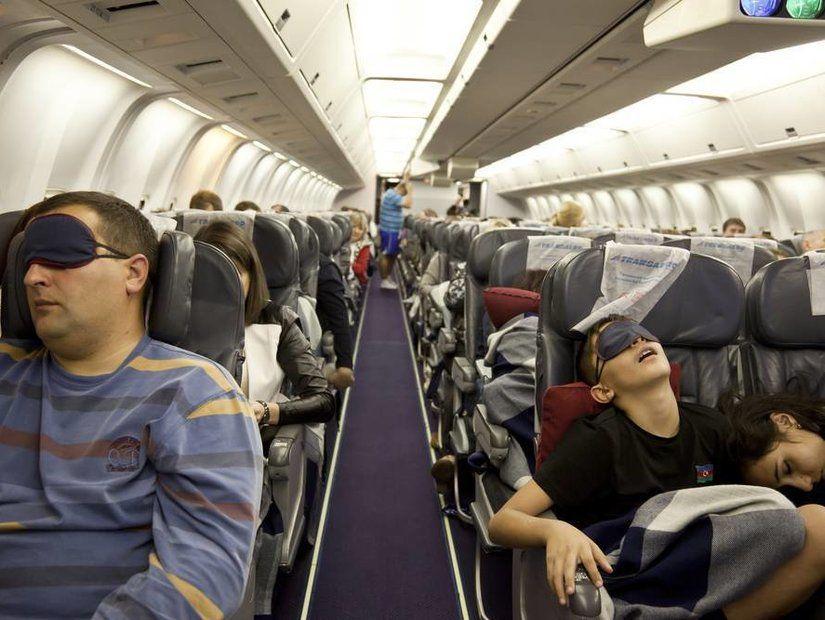 2- Uykusu ağır yolcular
