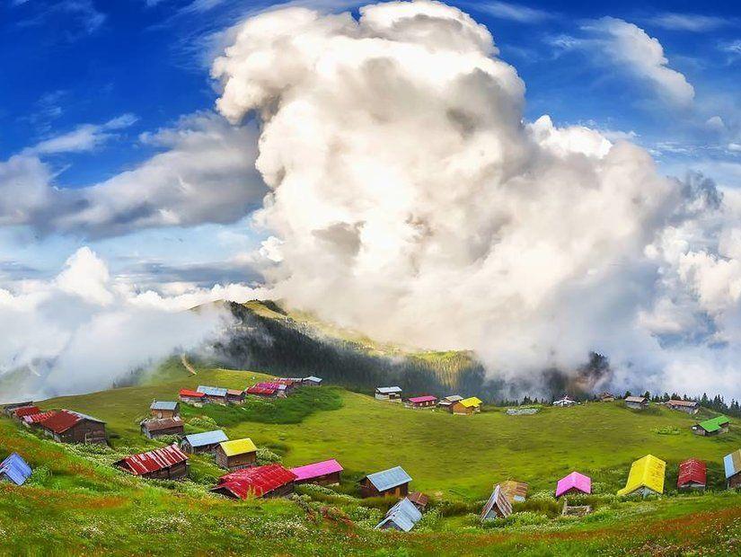 1- Kaçkar Dağları'nda yükseklere tırmanış