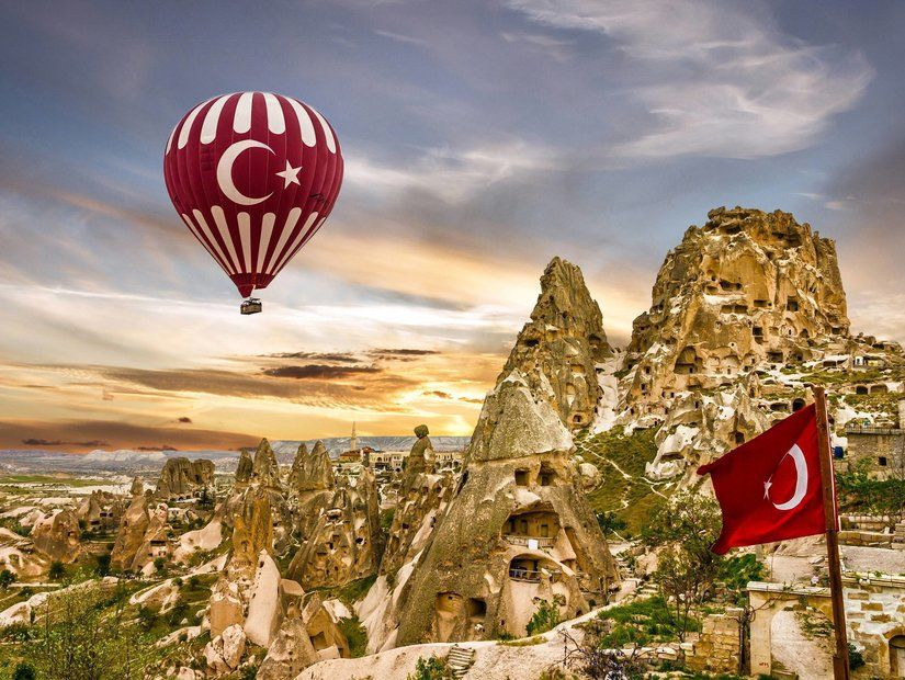 2- Kapadokya'da balon turu