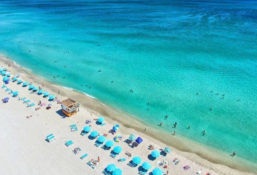 1- South Beach'te tüm gün deniz keyfi