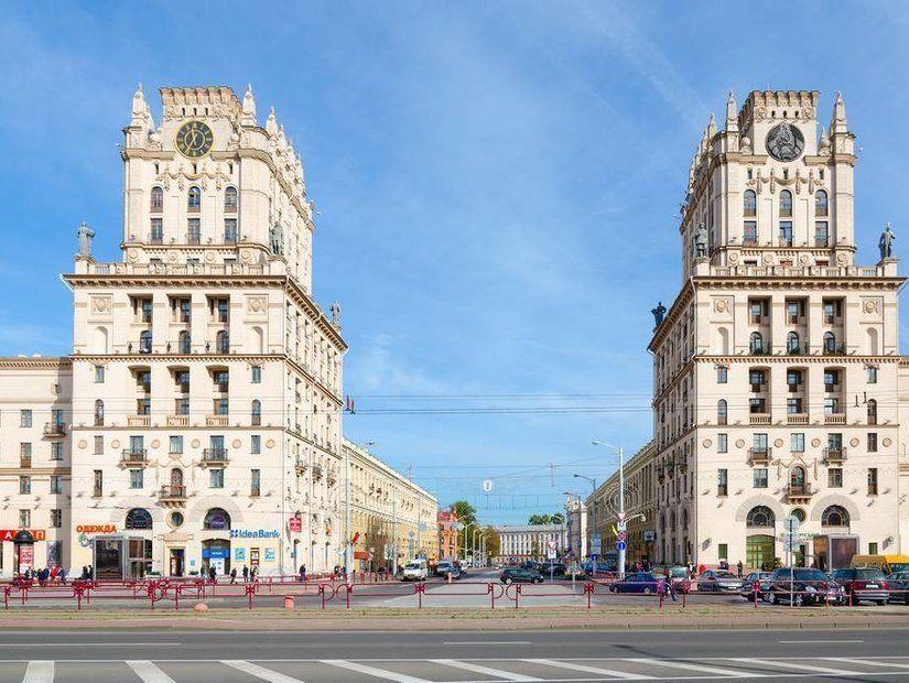 Rus mimarisi örnekleriyle dolu