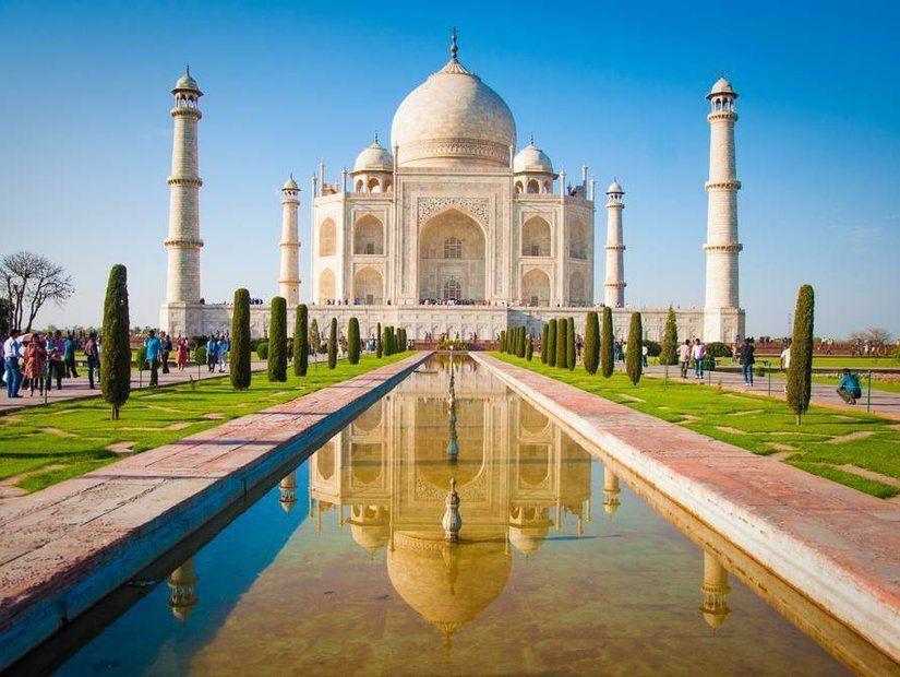 5- Tac Mahal – Hindistan