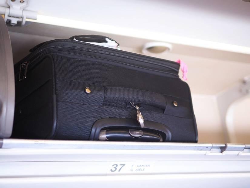 2- Tüm bagajlar kendi yerine!
