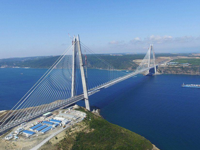 Raylı ulaşım ile Yavuz Sultan Selim Köprüsü'ne