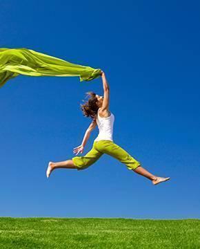 Gesundes und glückliches Leben